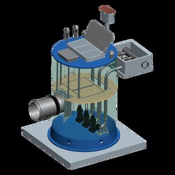 上海凱泉泵業智能一體化預制泵站湖南長沙凱泉水泵