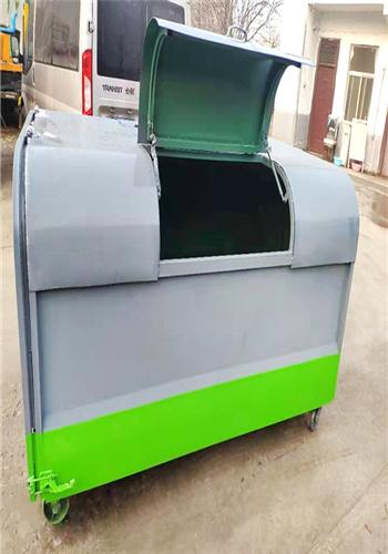5方勾臂垃圾箱/鄉村垃圾箱垃圾分類箱廠家