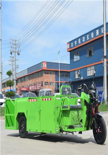 廣東環衛垃圾保潔車/四桶垃圾桶清運車參數