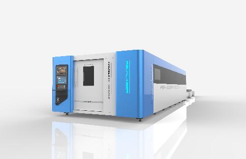 大型激光切割设备山东飞速激光FSH-15000W激光切割机金属厚板切割
