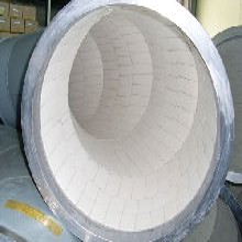 自蔓燃陶瓷復合耐磨管道熱電廠氣力除灰雙金屬耐磨彎頭圖片