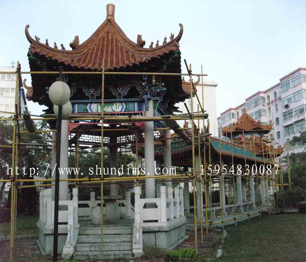 青岛河南商丘手绘古建筑彩绘寺庙彩绘佛堂彩绘牌楼彩绘的公司