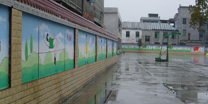 幼儿园壁画卡通壁画国学壁画绘制素材高清图片欣赏