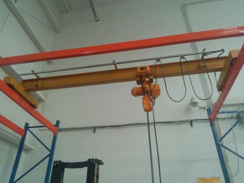 二手行车回收 行吊轨道 电动葫芦回收
