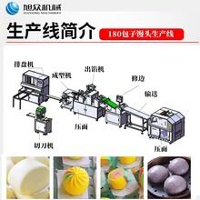 福建食品厂全自动大型包子生产线商用1800/3600/7200包子流水线图片