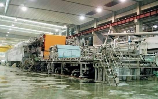 惠州回收1575型瓦楞纸生产线机械,回收文化用纸造纸机