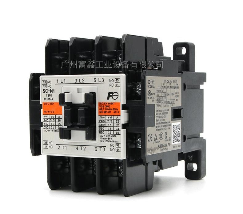 日本FUJI富士电磁接触器:SC-N1