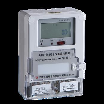 电子式直流电能表安科瑞DJSF1352电压输入大1000V电能精度1级