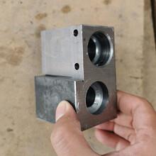 液压支架立柱DN19角接头座图片