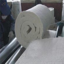 濮阳隔热材料高铝硅酸铝纤维针刺毯窑炉耐高温硅酸铝毡图片