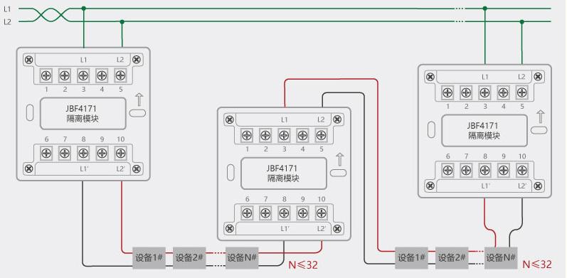 jbf151fd模块接线图