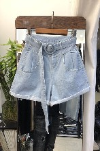 河北女裝短褲牛仔短褲雜款牛仔褲尾貨牛仔短褲圖片