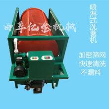 湖南洋姜清洗機滾籠式地瓜清洗機家用兩相電圖片