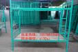 工地双人床员工宿舍上下铺铁架床价格多少钱一张