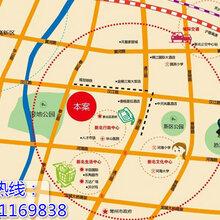 荣盛曼哈顿广场,能自营的小面积产权商铺图片