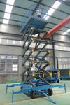 山东18米四轮移动式升降机价格图片
