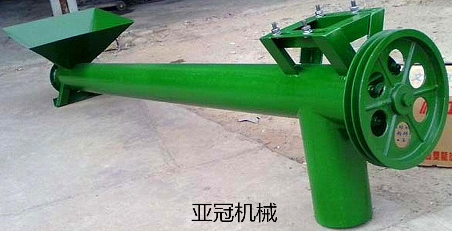 供应厂家直销螺旋提升机粮食输送机干粉颗粒提升机-升降螺旋提升机