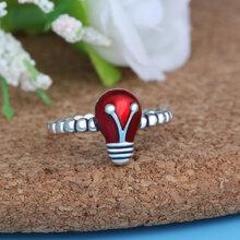 泰银手饰批发欧美流行风格s925纯银饰品可爱甲壳虫开口戒指