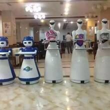 智能生活新体验服务机器人送餐娱乐