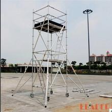 深圳东莞直销5.5m工作移动快装铝架GS认证铝合金脚手架