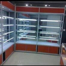 定做展柜手机展示柜超市货架仓库货架