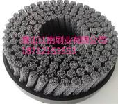 铝件去毛刺铸件打磨发动机缸体缸盖抛光去毛刺磨料磨具圆盘刷-江南刷业