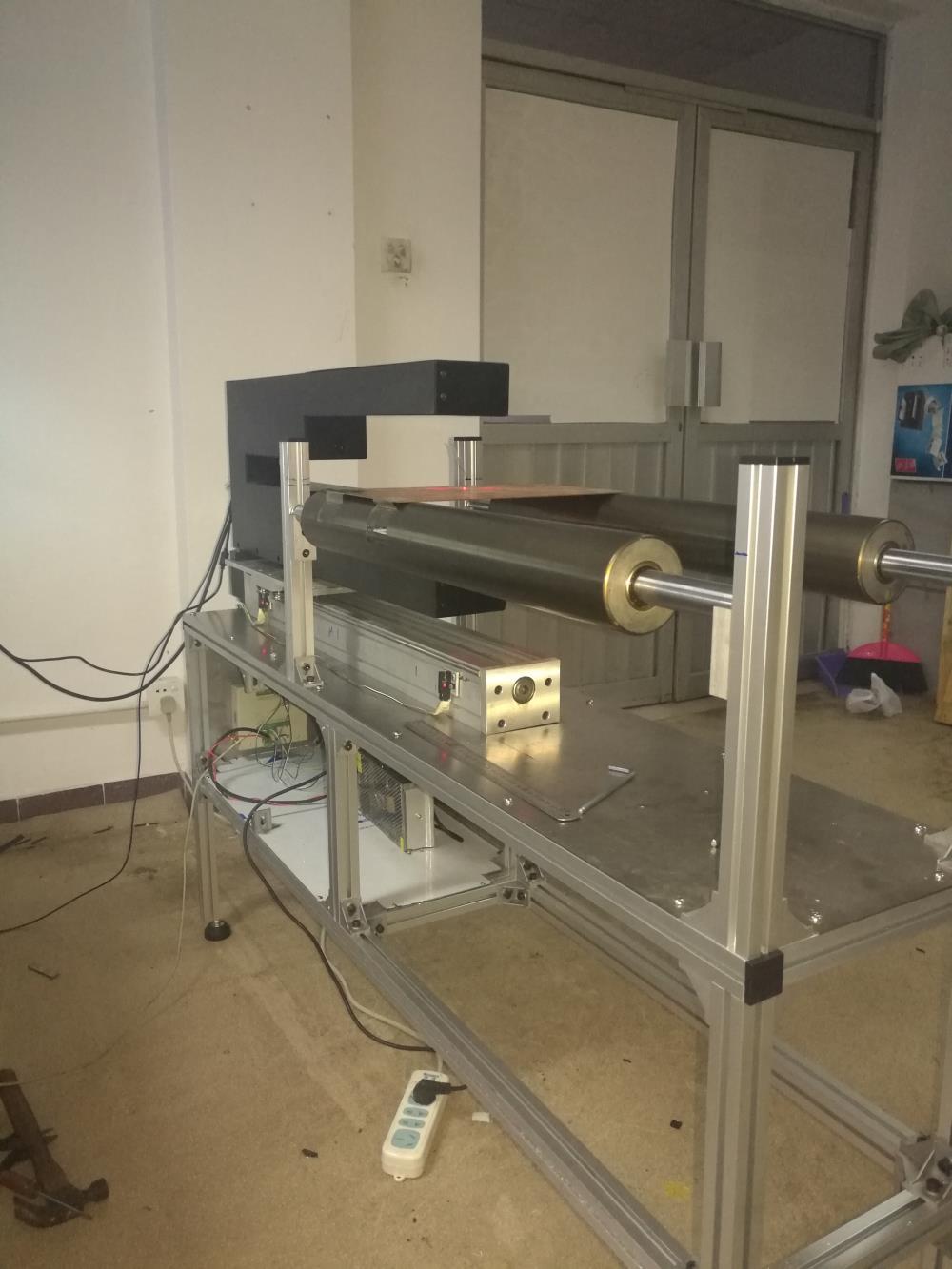 深圳凤鸣亮专利高精度纸张厚度激光在线测厚系统