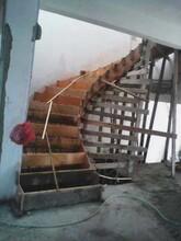 石家庄鑫达钢结构阁楼土建改造封露台现浇楼梯图片
