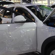 汽车贴膜深圳奥迪A1全车贴膜美国进口三层TPU自动修复江森隐形车衣