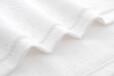 定制LOGO高档酒店宾馆洗脸美容SPA足疗会所纯棉全棉白色毛巾面巾