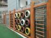 淄博幼儿园户外玩具厂家山东艺贝幼儿园实木玩具户外积木攀爬架