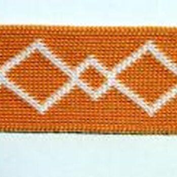 提花织带经编织带