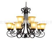 欧式环保吊灯欧式精致豪华节能吊灯图片