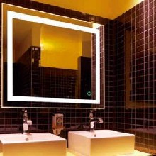 亮派欧式卫浴镜子防水浴室镜壁挂卫生间镜子豪华美式复古装饰镜