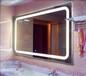 供应酒店led灯镜一体发光镜浴室防雾镜