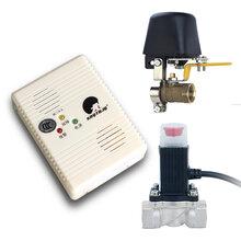 3C消防认证天燃气报警器家用燃气泄露报警器可联动电磁阀图片