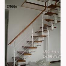 辽宁本溪阁楼楼梯钢木楼梯图片
