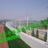 弘亚双边勾花护栏隔离栅铁路高速桥梁防护网