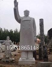 博宝石材汉白玉石雕人物雕像伟人名人石雕像专业定制图片