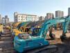 大型二手挖掘机设备市场