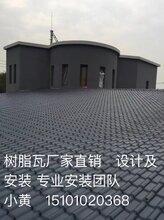 北京合成树脂瓦厂家直销pvc瓦3毫米树脂瓦厂家
