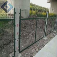 生产各种铁路防护栅栏浸塑金属网金属网隔离网