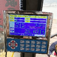 重庆装载机电子秤超大彩屏GPS远程实时查询重庆铲车电子秤厂家包安装图片