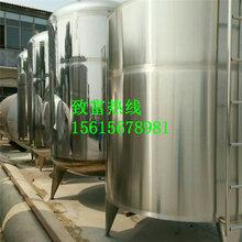 出售二手304不锈钢卧式储罐、立式储罐,不锈钢搅拌罐、发酵罐