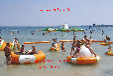 夏季清凉一夏水上乐园充气设备水蹦蹦床定做直销