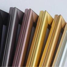 开启式铝合金展架量大从优铝合金海报支架批发厂家图片