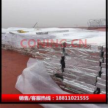 TPO卷材屋面用保温材料复合硬质立纤维玻璃棉廊坊玻璃棉厂家直销图片