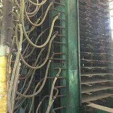 江东牌1200吨二手多层板热压机18层纵向木工热压机图片