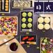 一次性环保烘焙包装西点寿司绿豆糕蛋挞三明治高档包装木盒含标签