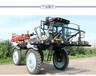 丰诺自走式大型液压四驱旱田打药机玉米去雄机